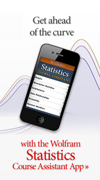 Get ahead of the curve with the Wolfram Statistics Course Assistant App