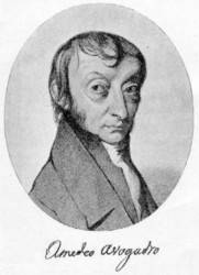 Portrait of Amadeo Avogadro