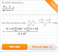 Derivative Calculator: Solve Derivatives with Wolfram|Alpha