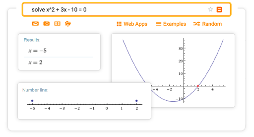 Online Equation Solver: Solve linear, quadratic and polynomial