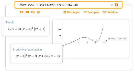 Online Factoring Calculator Factor Expand Or Simplify Polynomials