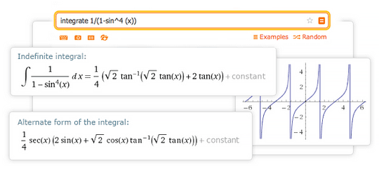 Integral Calculator Integrate With Wolframalpha