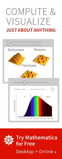 计算和可视化几乎任何东西。免费试用Mathematica。台式机&在线