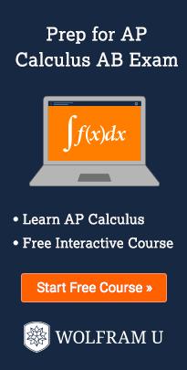 预科微积分AB考试。学习AP微积分。免费互动课程。开始免费课程。钨U